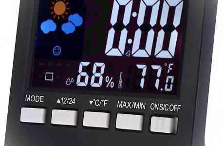 измерения влажности воздуха