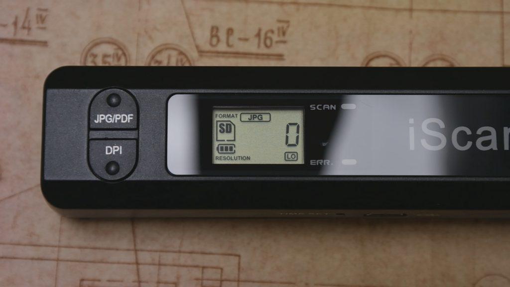 портативный сканер iScan